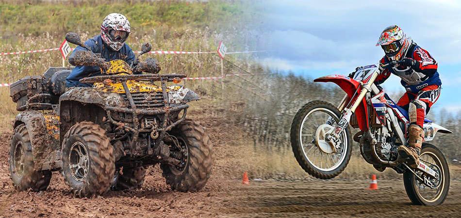 quads et motos tout-terrain